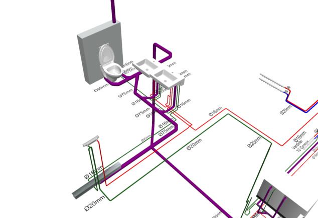 Schlepers Installatietechniek - BIM also a solution for 256 m²
